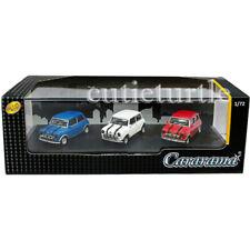 Cararama Mini Cooper 1:72 Diecast Model 3 Cars Set Blue / White / Red 71310M
