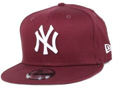 NEW Era 9 FIFTY NY NEW YORK MLB League Cappellino Da Baseball Rosso-MEDIUM/LARGE