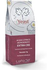 Acido Citrico Monoidrato DA 1 KG -E330 - EXTRA CEE-USO ALIMENTARE