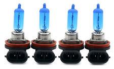 4 x H11 55W BLUE SET XENON Optik Halogen Lampen 8500K  Autolampen Abblendlicht