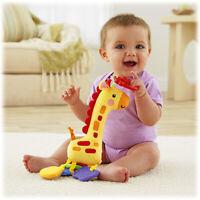 Baby Kid Child Fisher-Price Cascading Beads Giraffe Rattle Toy Soft Stuffed Doll