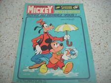 1975 Le Journal de Mickey No: 1204 Nouvelle serie
