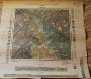 Geologische Karte LOBENSTEIN & Umgebung (1966)
