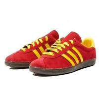 adidas originals Spezial Spritus Retro Mens Trainers Red Yellow Sports Shoes