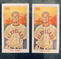 2020 LARRY DOBY TOPPS T206 SERIES 1 PIEDMONT & BASE 2 Card Lot