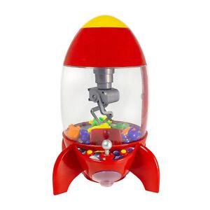 Global Gizmo Rocket Candy Toy Grabber Kids Children Arcade Game Sweets Dispenser