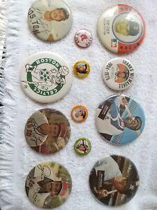 Baseball Pins (Lot Of 12 Vintage Pinbacks)