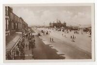 West Promenade Rhyl Vintage RP Postcard 836b