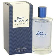 David Beckham Classic Blue Cologne Men 3 oz Eau De Toilette Spray Fragrance New