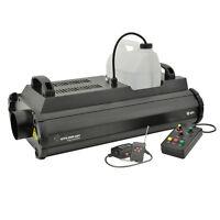 QTX QTFX-2000 MKII Professional 2000W Smoke Fog Machine DJ Stage DMX + 2 Remotes