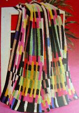 1604 vintage con Uncinetto Afgano LANCIA copiato carta Pattern Hook no.7 Aran Filati