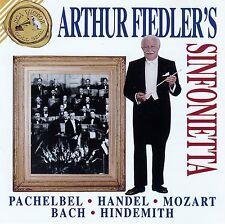 ARTHUR FIEDLER'S SINFONIETTA : PACHELBEL, HANDEL, MOZART, BACH, HINDEMITH / CD