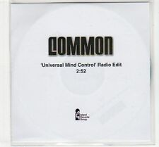 (EC593) Common, Universal Mind Control - DJ CD