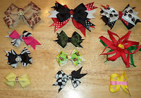 NEW! Handmade BOUTIQUE Girls or Toddlers HAIRBOWS Hair Bows Choose from Variety