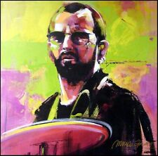 "Malcolm Farley ""Ringo Starr"" Hand Signed Unique Canvas Make an Offer"
