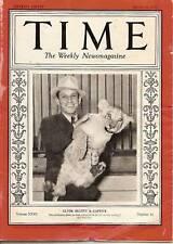 Time Magazine 1937, Mar 29  Clyde Beatty & Captive