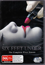 Six Feet Under - The Complete First Season - DVD (Reg. 4 Brand New Sealed)