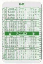 1982 1983 vintage Rolex CALENDARIO VERDE 1680 6265 1655 1803 1608 1675 1803 5513