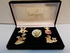 Walt DISNEY CLASSICS DESIGNER COLLECTION 1999 PIN SET OF 5