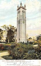 Hartford Connecticut~Mother Keney Clock Tower~Homes on Ely Street~1906 PC