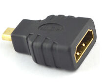Micro HDMI (Type D) Male to HDMI (Type A) Female Converter Adapter For HDTV -AW-