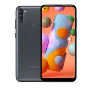 "Samsung Galaxy A11 SM-A115U 6.4"" Infinity Display 32GB Black Sprint/T-Mobile"