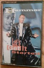 LET'S GET IT STARTED M. C. HAMMER CASSETTE TAPE FROM 1988
