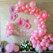 112 Balloon garland kit pink birthday party beautiful girl wife friend daughter