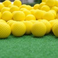 20pcs Indoor Outdoor Sports Training Practice Golf Elastic PU Foam Balls