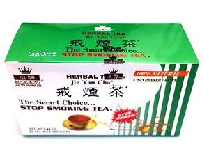 2 Boxes Royal King 100% Natural STOP SMOKING HERBAL TEA - 40 tea bags total