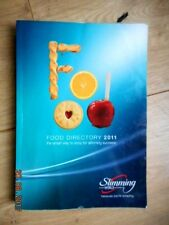 SLIMMING WORLD FOOD DIRECTORY 2011 ALL 3 CHOICES RED GREEN & EX EASY SYNS