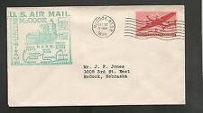 US # C25 FIRST FLIGHT AM-90 SEG NO 2 MCCOOK NEB DEC 22,1949