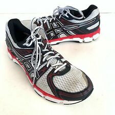 Mens Asics Gel-Nimbus 15 Mens Size 11.5 White Red Trail Running Shoes Sneakers