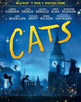 Cats [New Blu-ray] With DVD, 2 Pack, Digital Copy