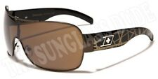 Sunglasses New Metal Aviator Sport Shade Dxtreme Men Women Black Gold DXT3732G