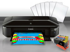 EDIBLE INK WIDE PRINTER CANON IX6820 +6 FROSTING SHEETS + Software Download