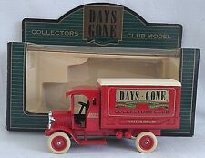 LLEDO DAYS GONE 1926 DENNIS DELIVERY VAN COLLECTORS CLUB WINTER 1994-5 BOXED