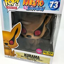 "Naruto Shippuden - Flocked 6"" Inch Kurama #73 (Hot Topic) Funko Pop! Vinyl"