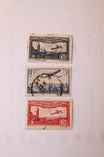 TIMBRES POSTE AERIENNE VERS ANNEE  20 et 30