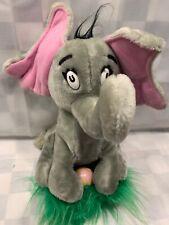 "Vintage Dr. Suess Plush Horton Hatches Egg Elephant 12"" Stuffed Toy Coleco 1983"
