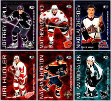 2003-04 PACIFIC HEADS UP PRIME PROSPECTS INSERT CARDS - PICK SINGLES FINISH SET