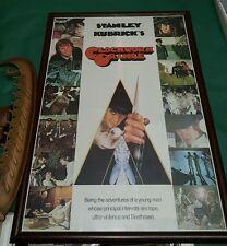 Clockwork Orange original movie poster 96x136 cm Made in Great Britain RARE 1972
