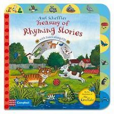 Axel Scheffler Treasury of Rhyming Stories: Rhyming Stories with CD, Scheffler,