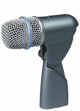 Shure Beta 56 Dynamic Cable Professional Supercardiod Dynamic Microphone