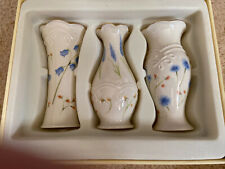 New Lenox set of 3 floral bud vases Nib Ships Priority Mail