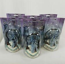 6 Corpse Bride Resin Halloween Wedding Cake Toppers DAMAGED Figurine RARE 5-1/4""