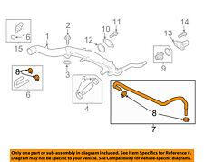 TOYOTA OEM Cooling-Rear Hose Left SU00300406
