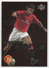 Upper Deck Manchester United Strike Force 2003-tarjetas de inserción//regla-Elige