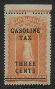 Ontario Gasoline Tax Stamp, OGT2 mint, F-VF