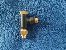 Live steam water check valve 1/4 x 40 5/32 pipe UK made product